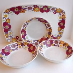 Figgjo - Maja (Turi Design) Vintage Kitchen, Retro Vintage, Stavanger, Ceramic Artists, Designing Women, Norway, Sweden, Vikings, Maya