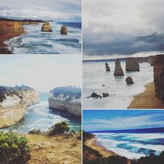 Another great weekend away to Apollo Bay :) Went and saw the 12 Apostles and the Loch ard Gorge ! Honestly breathtakingly beautiful.  Its definitely a trip worth doing.  #apollobay #trip #roadtrip #lochardgorge #twelveapostels #australia #love #happy #livefree #amazing #bliss #calm #blues #beach #ocean #history by josephine_elizabeth_ http://ift.tt/1LQi8GE