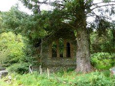 "pagewoman: "" Abandoned Chapel, Snowdonia, Wales """