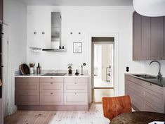 9 Astounding Cool Ideas: Home Decor Tips People home decor eclectic bedroom.Home Decor Plants Front Yards target home decor christmas.Home Decor Grey Layout. Home Decor Kitchen, Kitchen Interior, New Kitchen, Home Kitchens, Classic Home Decor, Classic House, Pink Kitchen Cabinets, Decor Interior Design, Interior Decorating