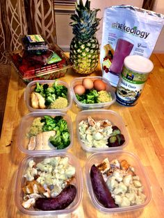 21 Day Fix Meal Preparation