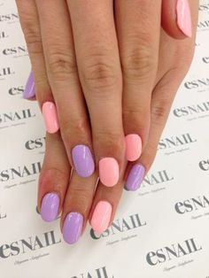 Pretty pastels, great for Spring!