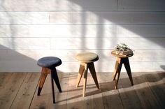 3 LEGGED STOOL|PLUS81 PRODUCT |Creema