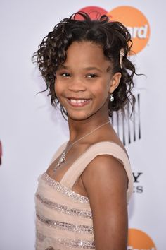 Pin for Later: 9 Celebrity Cameos in Beyoncé's Lemonade That You Might've Missed Quvenzhané Wallis The pint-size Annie actress looked all grown up in Lemonade.
