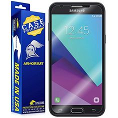ArmorSuit - Samsung Galaxy J7 (2017) Screen Protector [Case Friendly] MilitaryShield For Samsung Galaxy J7 (2017) Lifetime Replacement Anti-Bubble HD Clear ** Want to know more, click on the image. (This is an affiliate link) #CellPhonesAccessories