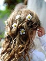 Resultado de imagem para coroa flores natural amarelas cabelo daminha