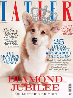 On the cover of Britain's Tatler Magazine