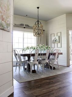 40 Lasting Farmhouse Dining Room Table And Decorating Ideas