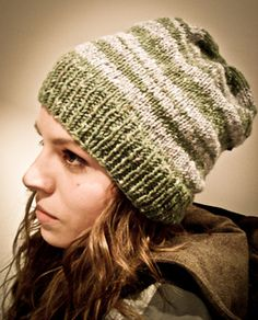 ed659f5120d Twilight Eclipse Bella s Slouchy Striped Toque pattern by Amy Thiessen