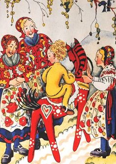 Nordic Thoughts: Illustration by Elsa Hammer-Moeschlin (1879-1950)