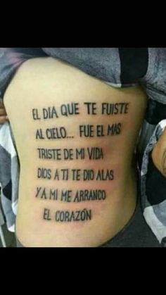 Tatuajes Phrase Tattoos, Body Art Tattoos, Tatoos, Tattoo Quotes, Diy Tattoo, Spanish Tattoos, Tattoo Trends, Little Things, Tattoos For Guys
