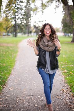 The Collaboration Blog: Leather and Layers #thecollabblog #fallfashion  Denver Street Style Fall Fashion 2015