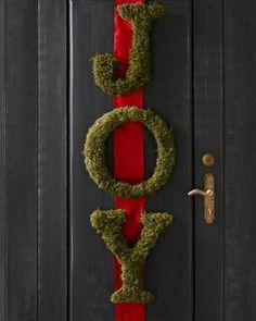 Moss-Covered Letter - Garnet Hill