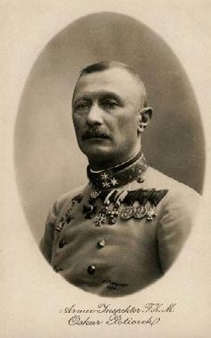 From 29 July 1914 to 11 August, the Austro-Hungarian army launched artillery attacks against the Serbians. The Austro-Hungarian invasion of Serbia was commanded by General Oskar Potiorek, the Austro-Hungarian Governor of Bosnia and Herzegovina.