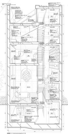 Drawing ARCHITECTURE | Atelier Bow-Wow via Club Construct