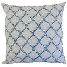 Found it at Wayfair - Padma Geometric Cotton Throw Pillow