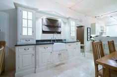 This traditional kitchen was crafted by our skilled carpenters for our showroom in Colne.