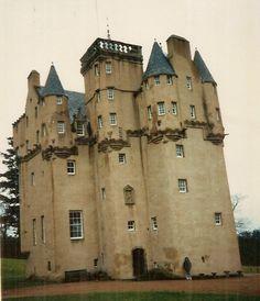 Clan Forbes' Cregievar Castle, Aberdeen, Scotland