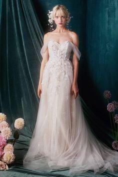 Ethereal Wedding Dress, Fairy Wedding Dress, Fairytale Dress, Dream Wedding Dresses, Woodland Wedding Dress, Flowery Wedding Dress, Renaissance Wedding Dresses, Prettiest Wedding Dress, Victorian Wedding Dresses
