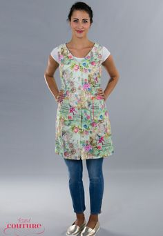 """Trachtenmode - Kleid Schürze Kittel """"Fleur"""" Oktoberfest - ein Designerstück von Kittelcouture bei DaWanda"""