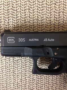 White slide engravings, next step in the customization of my beloved Glock 30S
