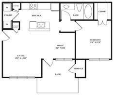 Small Floor Plan by sweet.dreams