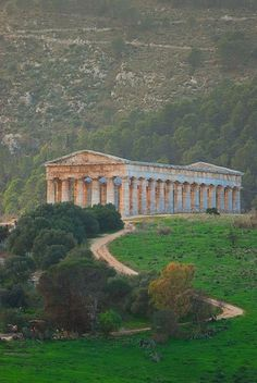 Temple of Concord, Agrigento - Sicily .... the most intact ... (440 BC-430 BC). Province of Messina, Sicily italy