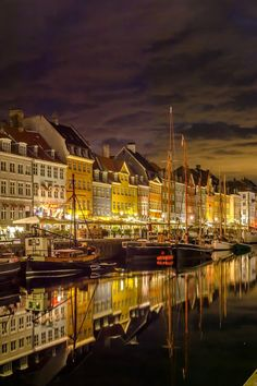 Nyhaven, New Harbour, is a 17th-century waterfront, canal and entertainment district in Copenhagen, Denmark. It is a great place to meet friends, do some shopping or have a relaxing meal.