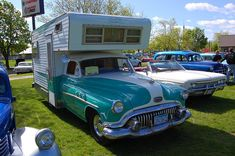 1952 Buick Dreamer RV...oh how I need this....