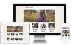 Style A Stylish Magazine Blog and Bloggers with Media Responsive WordPress Theme
