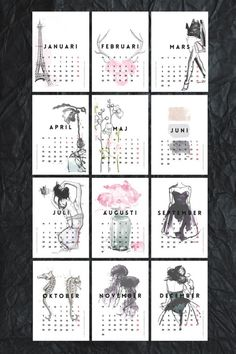 Here are 20 free 2015 calendars that you can print out and customize. Dainty calendars, cute calendars, food calendars.. a collection of free printable calendars for you to use.