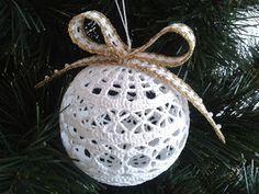 Paljon jouluaiheisia patterneja: Galeria rozmaitości: Wzory szydełkowe-Boże Narodzenie