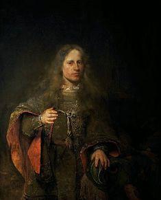Portrait of Ernest de Beveren, Lord of West-IJsselmonde and De Lindt by Aert de Gelder, Museum of the Netherlands Art Periods, 18th Century Fashion, 17th Century, Dutch Golden Age, Johannes Vermeer, Dutch Painters, Dutch Artists, Old Master, Baroque