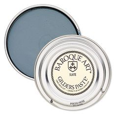 Wax paste, Gilders Paste®, slate. Sold per 1-ounce canister.