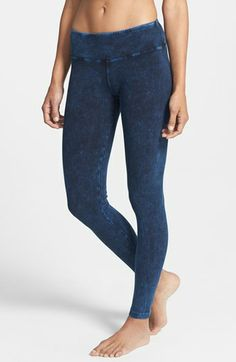 Hard Tail Mineral Wash Ankle Leggings available at #Nordstrom