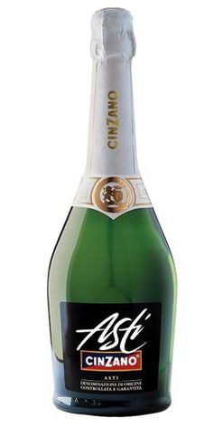 Cinzano Asti Spumante  Great for celebrating if you just don't care for champagne!