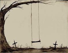 Graveyard Swing-Set by Zane-The-Mudfish on DeviantArt King Of Spades, Spring Awakening, Deviantart, Swings, Darkness, Musicals, Diamonds, Image, Board