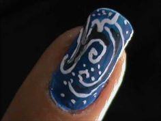 EASY nail designs for short nails - Nail Art For Beginners - nail design...
