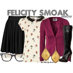 """Arrow"" by kerogenki on Polyvore"