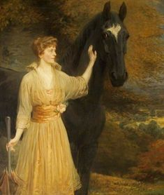 Lady Roundway of Devizes, Wiltshire  Briton Riviere (1840–1920)  Devizes Town Hall