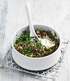 Bacon,-pea-and-spinach-lentils