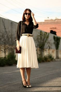 What to wear to work: In the swing | working it what to wear fashion daily feature fashion daily picture