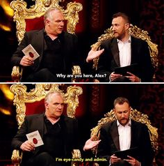 Eye-candy and admin | Greg Davies and Alex Horne | Taskmaster