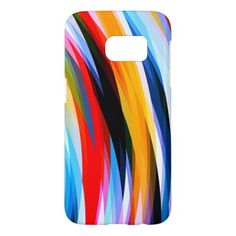 Red Blue Yellow Black Samsung Galaxy S7 Case - elegant gifts gift ideas custom presents