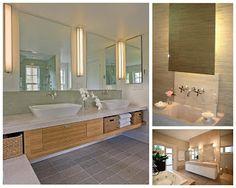 Reformando pra MoRar: Luminárias para espelho de banheiro