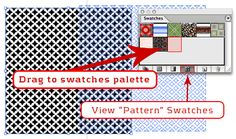 The Power (and ease) of Patterns in Illustrator