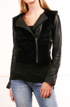 I SOOOOO need a new black jacket. This could very well be in the running... A.L.C JACKET