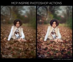 MCP Inspire Photoshop Action Set is Now Available