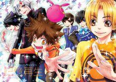Cross-Over of D.Gray-man, Death Note, Hikaru no Go, Katekyo Hitman REBORN!, Kuroshitsuji, and OHSHC.