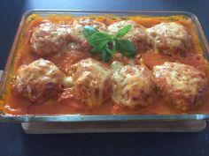 Zapiekanka gyros - Blog z apetytem Lasagna, Pork, Food And Drink, Cooking Recipes, Pasta, Chicken, Meat, Ethnic Recipes, Blog